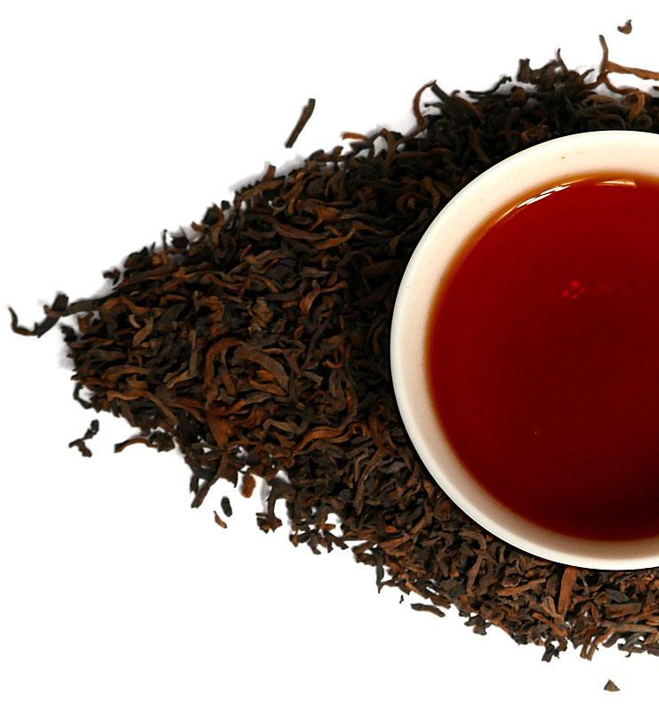 120 1 - Рассыпной Мэнхайский чай Шу Пуэр (№120)