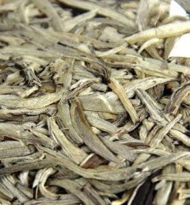 Бай Цзинь Бин белый прессованный чай №600