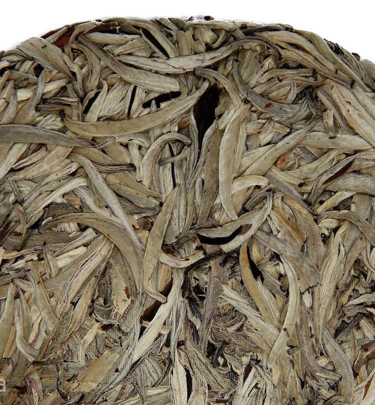 bai puer 600 03 - Бай Хао Бин Пуэр белый прессованный чай (№600)
