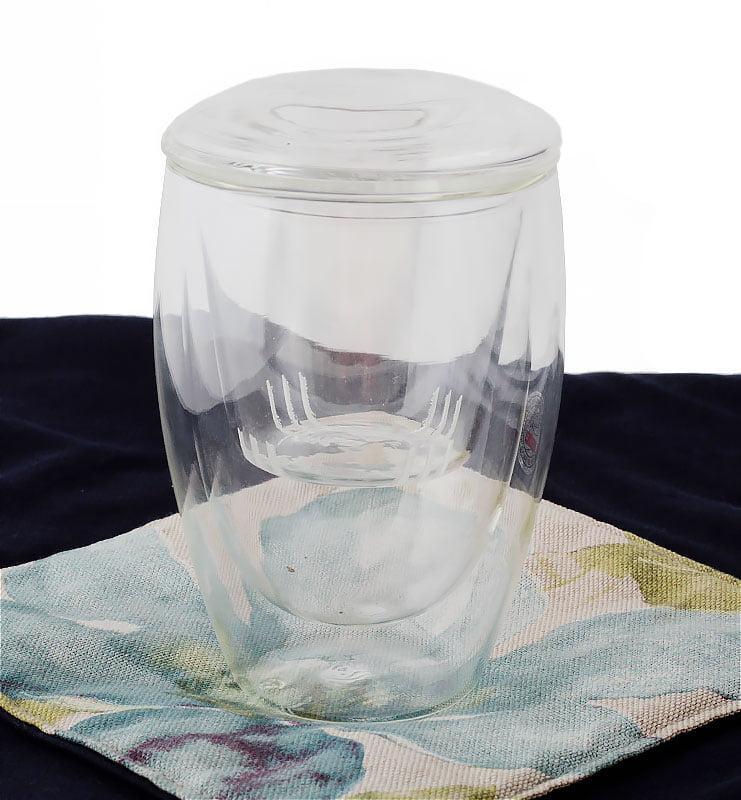 glassss 1 - Стакан (термо) с крышкой и ситом 350 мл
