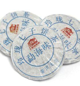 И Дай И Лу, прессованный в микроблинчики Шен Пуэр (№300)  - фото