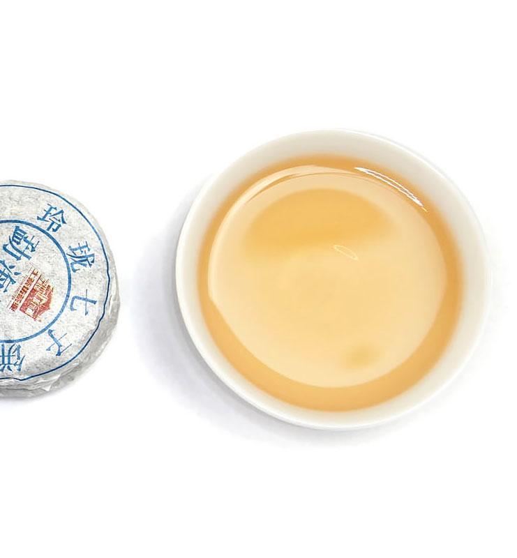 И Дай И Лу, прессованный в микроблинчики Шен Пуэр № 120  - фото 2