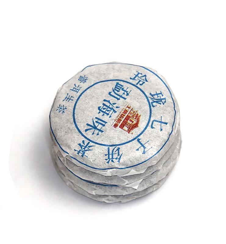 И Дай И Лу, прессованный в микроблинчики Шен Пуэр № 120  - фото 5
