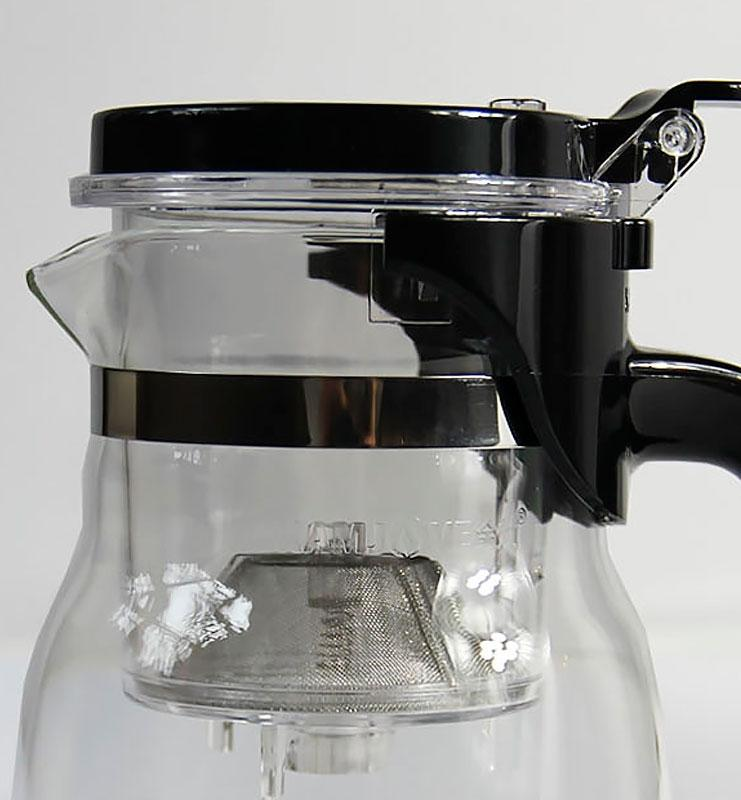 Заварник с ситом (teapot) 600 мл.  - фото 3