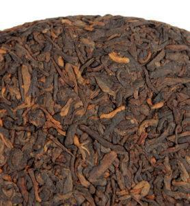 Ци Цзи Бин из ИУ, прессованный чай Шу Пуэр №300