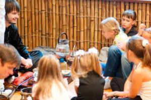 Чайная церемония для детей
