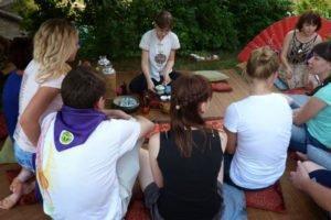 Летняя выездная церемония на природе, 2013