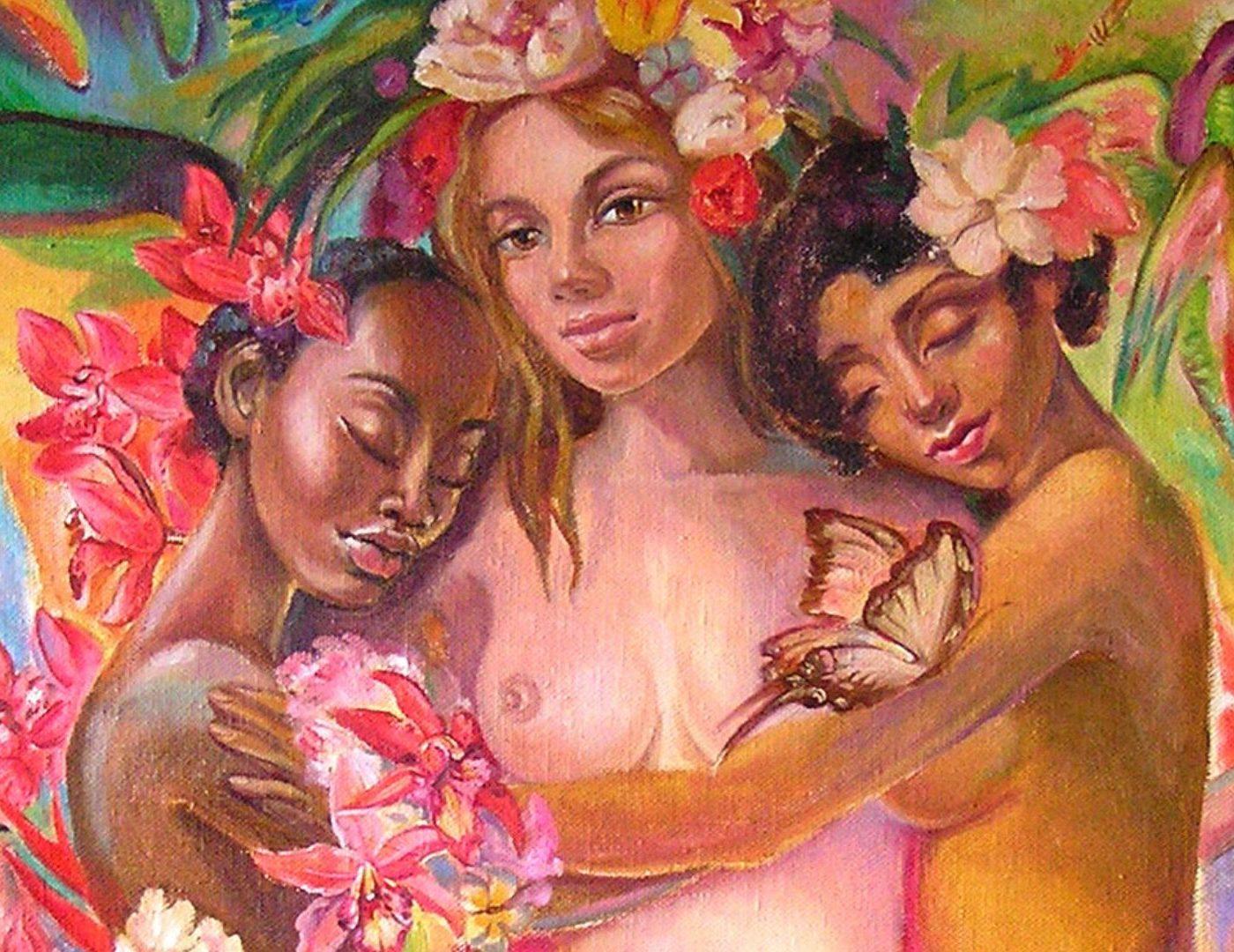 Выставка живописи Алёны Сергий - Бытие Сознание Блаженство