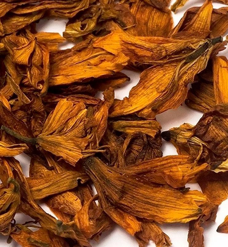 Цветочный Чай «Бай Хэ», цветы и бутоны лилии (№200)  - фото 3