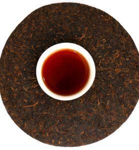 Цзинь Чжень Бай Лянь, прессованный чай Шу Пуэр № 360