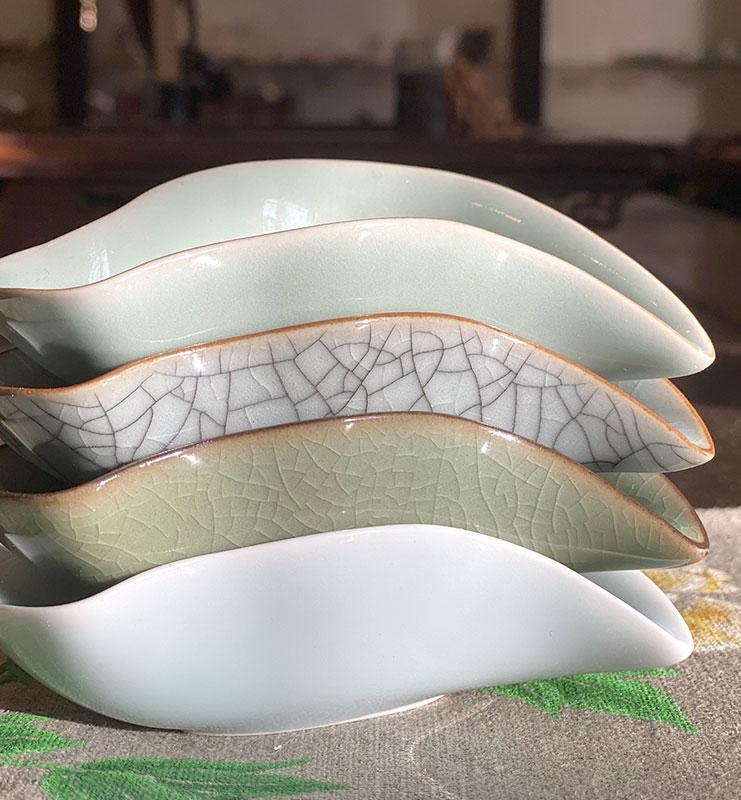 Чахэ из фарфора Цин Ци для подачи чая «Цинци птица»  - фото 4