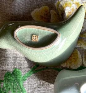 Чахэ из фарфора Цин Ци для подачи чая «Цинци птица»  - фото 2