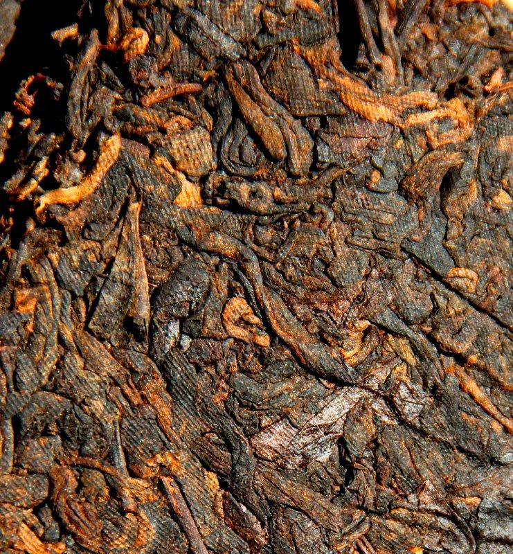 din 2 - Дин Син Тао, прессованный чай Шу Пуэр 2006 года (№800)