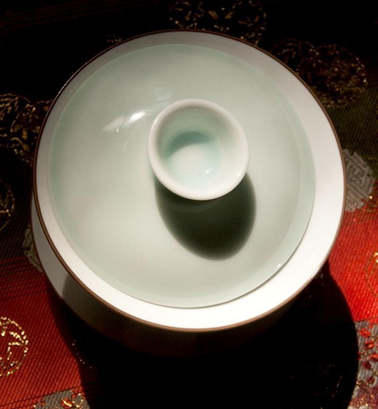 Гайвань белый фарфор