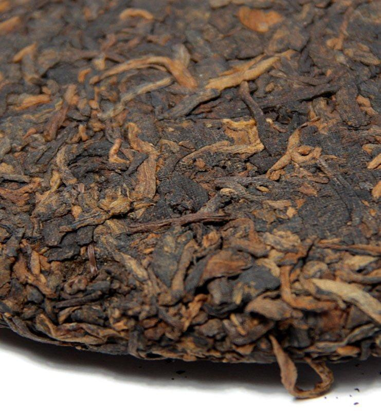 Гун Тин Ци Цзы Бин, прессованный чай Шу Пуэр №360