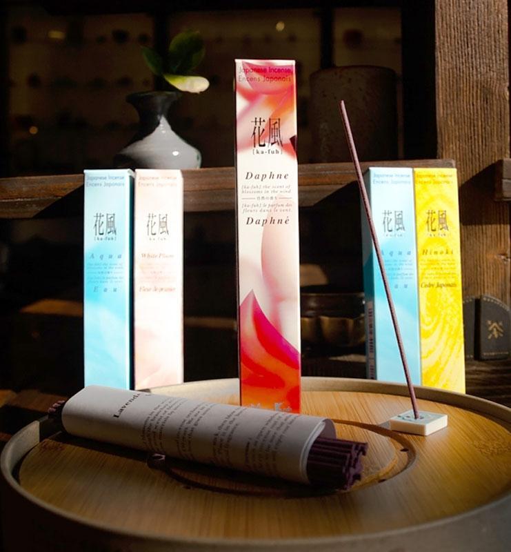 Японские благовония серии ароматов «Ka-Fun»