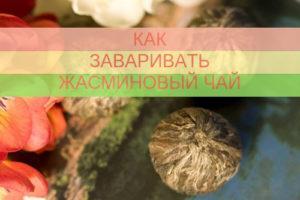Read more about the article Как заваривать жасминовый чай