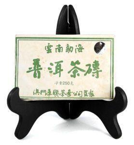 Ча Чжуань, Шэн Пуэр 2006 год в форме кирпича (№800)  - фото