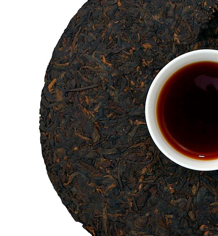 Люнь Дао, выдержанный чай Шу Пуэр 2003 года (№1600)  - фото 4