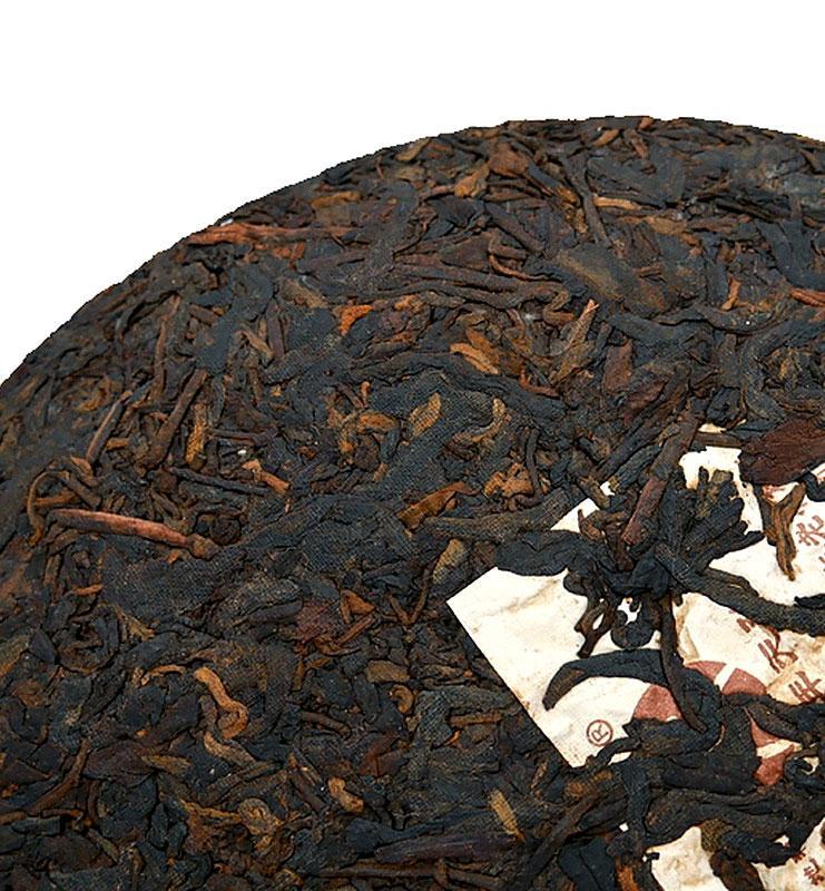 Люнь Дао, выдержанный чай Шу Пуэр 2003 года (№1600)  - фото 5