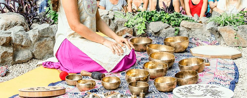 Медитация под звуки поющих чаш