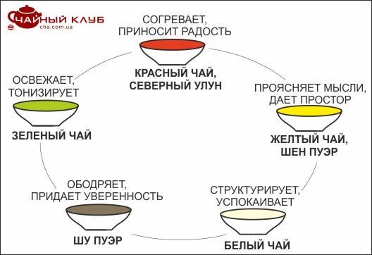 tea map usin - Как выбрать чай