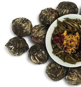 Моли Цзи Сян Жу И связанный чай с жасмином №400