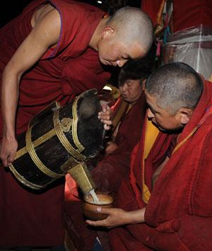 Тибетская притча о чашке чая