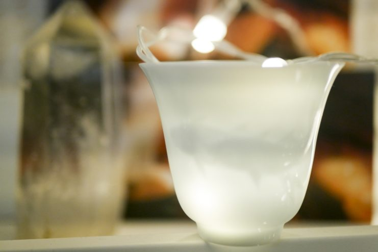 Чашка фарфоровая «Барельефный рисунок»