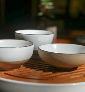 Чашки матовая глазурь