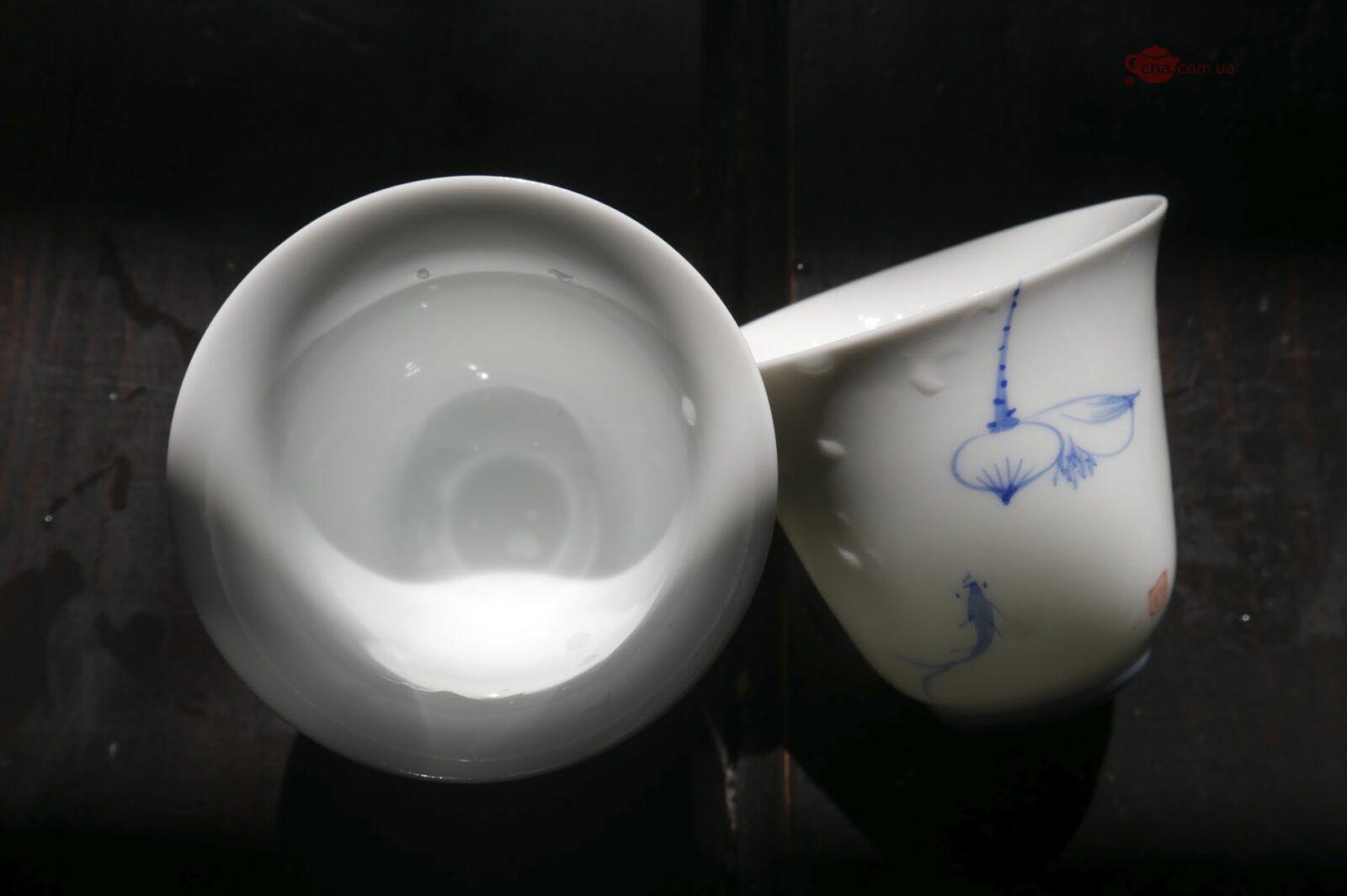 Чашка «Лотос и рыбка»