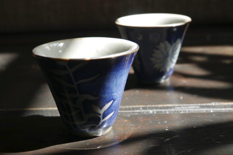 Чашка «Пион и бамбук»
