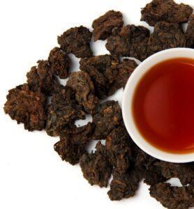 Шу Пуэр «Лао Ча То» чай выдержанный 2007г. (№800)  - фото
