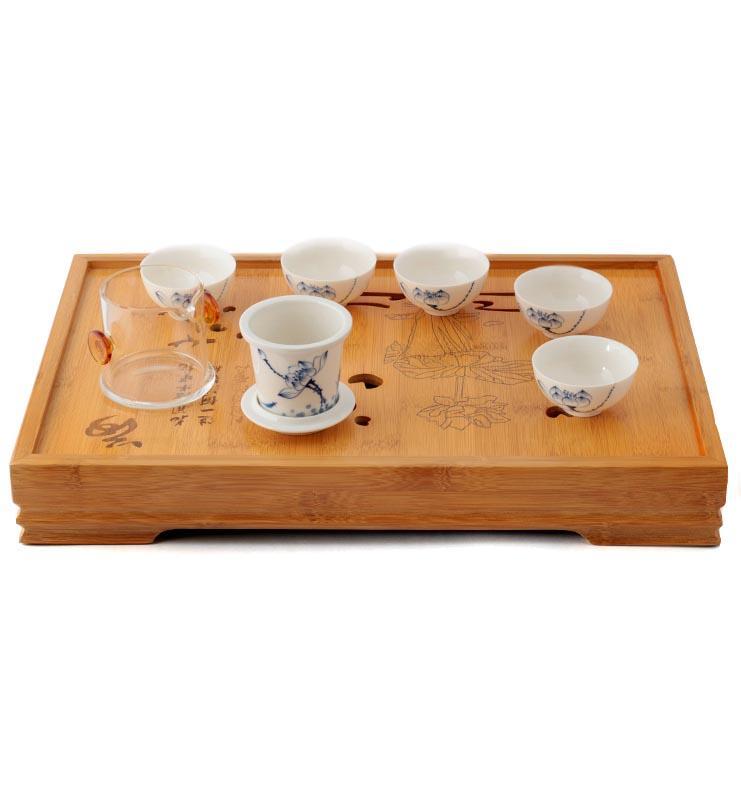 chaba 2 - Чабань «Лотосовый пруд», чайный столик