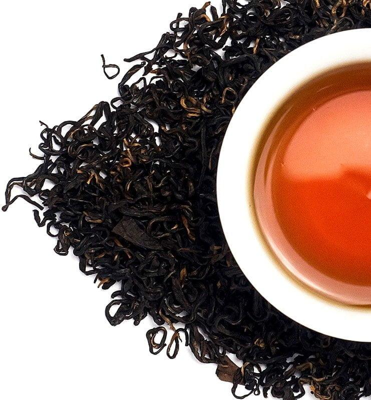 Цзю Цюй Хун Мэй рассыпной красный (черный) чай № 180