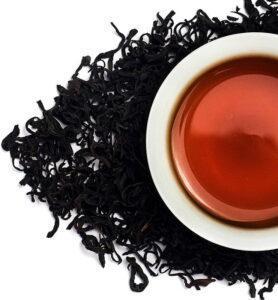 Цзю Цюй Хун Мэй рассыпной красный (черный) чай №360  - фото