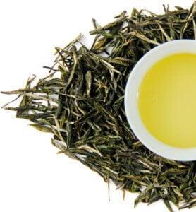 Фу Си Гун Пин, китайский зелёный чай №400  - фото