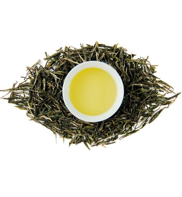 fu si gun pin 5 - Фу Си Гун Пин, китайский зелёный чай (№400)
