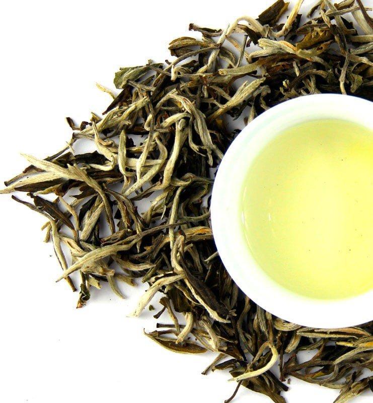 juje 500 2 - Юэ Гуан Мэй Жень белый рассыпной чай (№500)