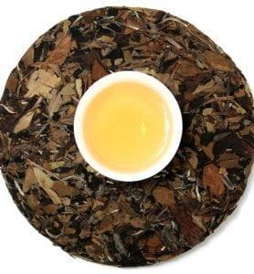 Лао Чжень Хэ Бай Ча белый прессованный чай № 1000