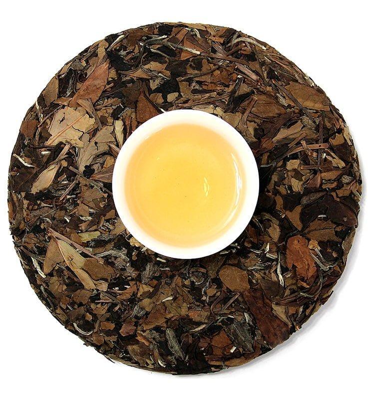 Лао Чжень Хэ Бай Ча белый прессованный чай (№1000)  - фото 5