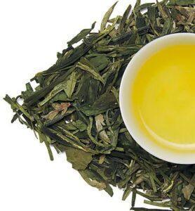 Лун Цзин, Колодец дракона китайский зелёный чай №120  - фото