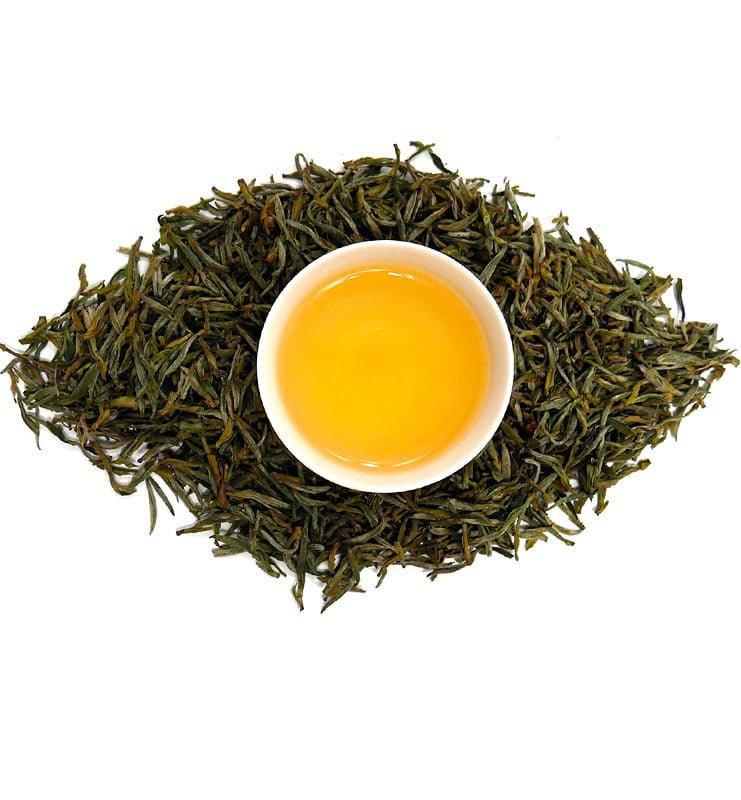 Мэн Дин Хуан Я, жёлтый чай из пров. Сычуань № 900