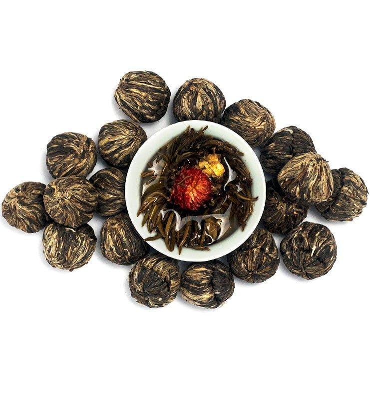 moli xai bei tu zhu 400 2 - Моли Хай Бэй Ту Чжу связанный чай с жасмином (№400)