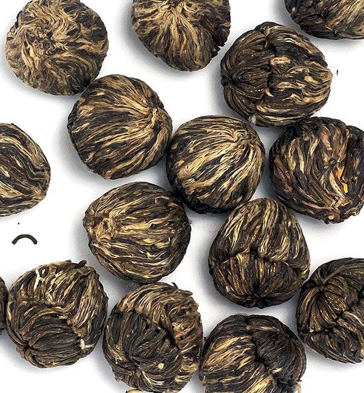 moli xai bei tu zhu 400 4 - Моли Хай Бэй Ту Чжу связанный чай с жасмином (№400)