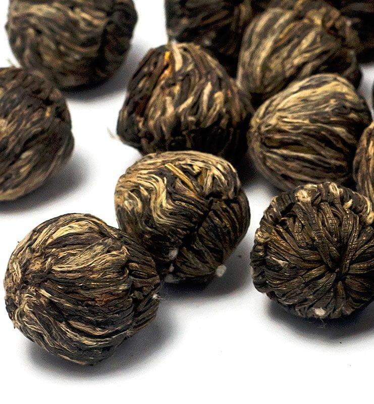 moli xai bei tu zhu 400 5 - Моли Хай Бэй Ту Чжу связанный чай с жасмином (№400)