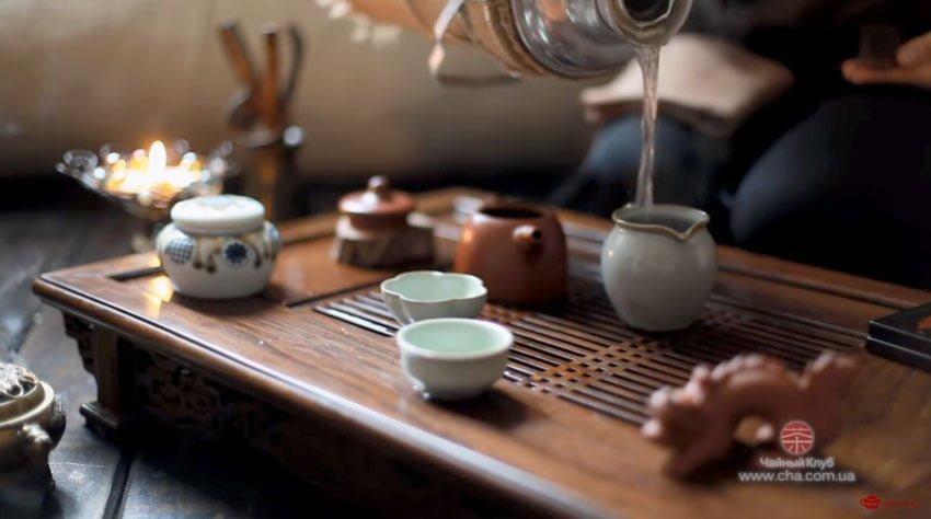 Заваривание чая методом Пинь Ча