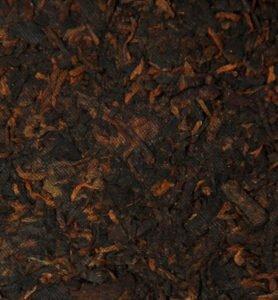 Шу Пуэр прессованный чай «Бань Чжан Гун Тин» 2017 год  №150