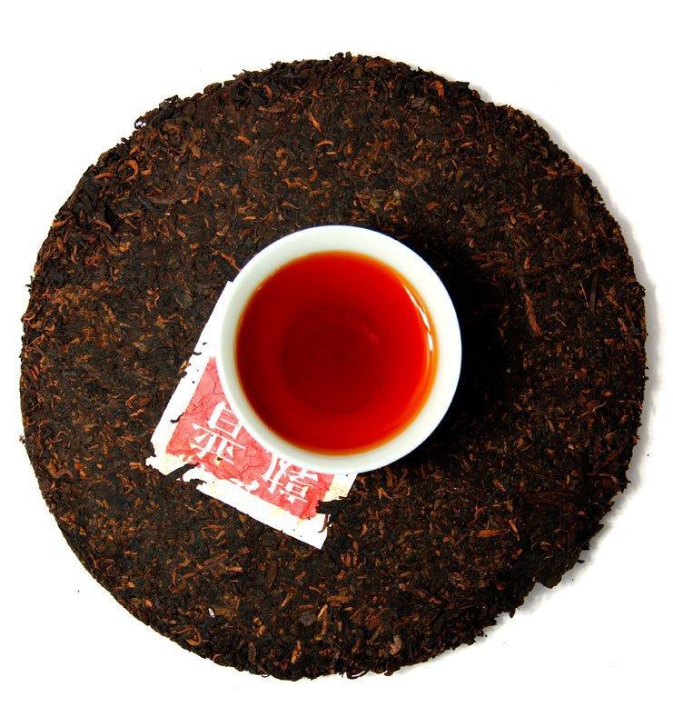 """ccb 150 4 - Шу Пуэр """"Бань Чжан Гун Тин"""" чай прессованный 2017г (№150)"""