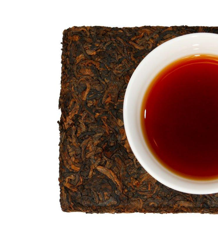 Шу Пуэр Ча Чжуань прессованный чай 2013г (№180)  - фото 4